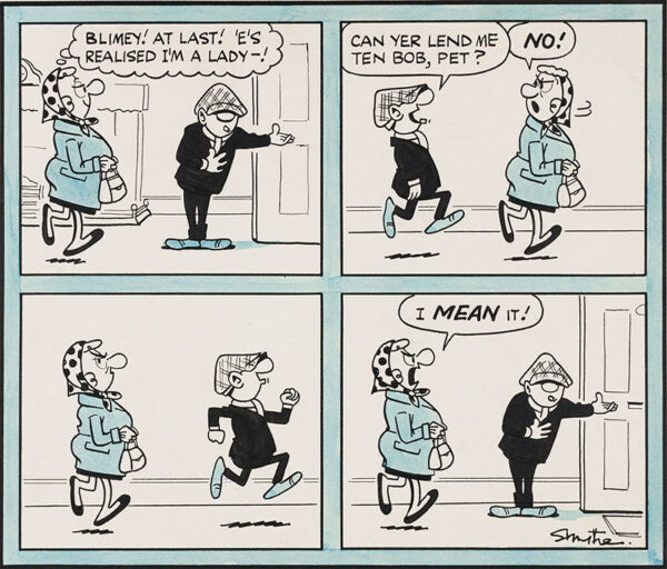 SMYTHE Reg (1917-1998) - Andy Capp: the Gentleman.