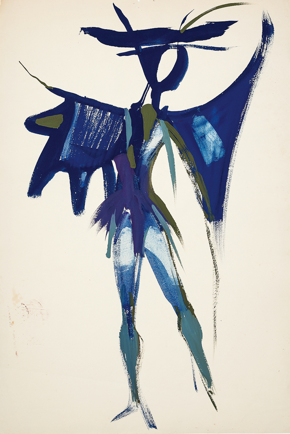 Yolanda SONNABEND (1935-2015) - Selected Costume Designs from the Artist's Estate.