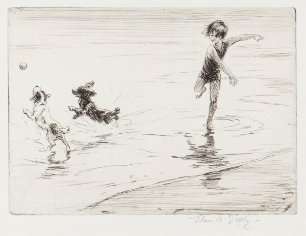 SOPER Eileen (1905-1990) - 'Spring Tide'.