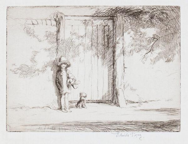 SOPER Eileen (1905-1990) - 'Garden Gate'.