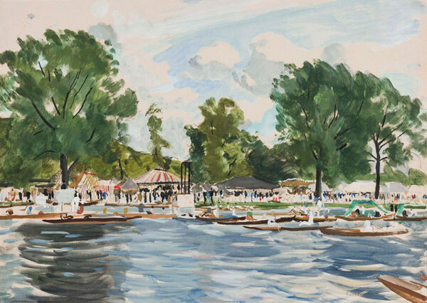 SOZONOV Valerie (fl.1920-1940) - 'Henley Regatta'.