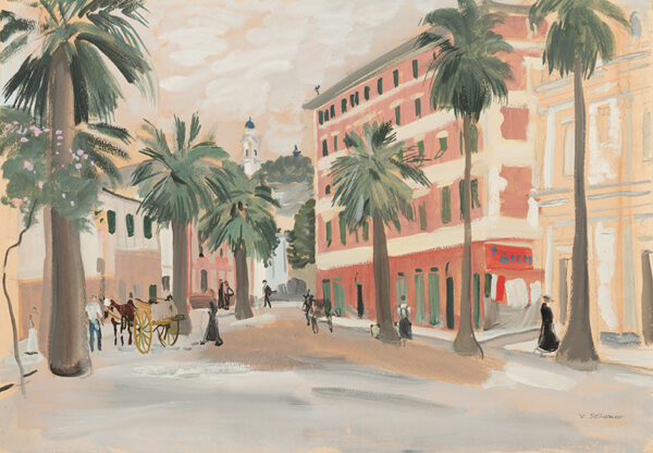 SOZONOV Vsevolod (1899-1966) - Santa Margherita, Liguria.