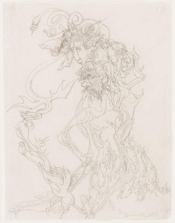 SPARE Austin Osman (1886-1956) - Snakes and Spirits.