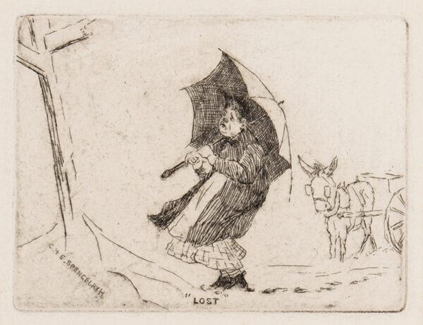 SPENCELAYH Charles (1865-1968) - 'Lost'.