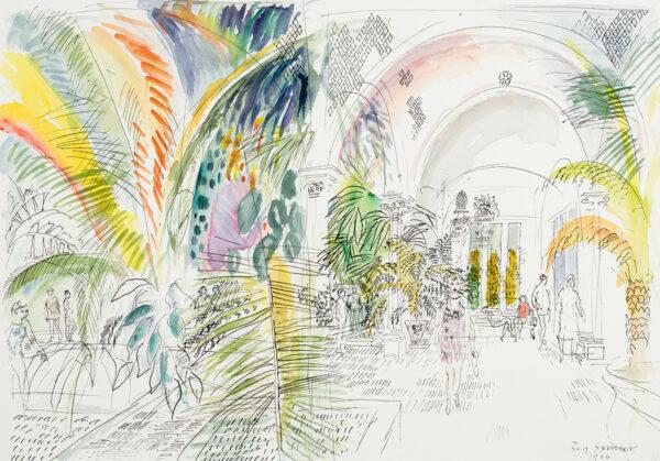 SPENCER Roy (1918-2006) - 'Tropical House, Kew'.