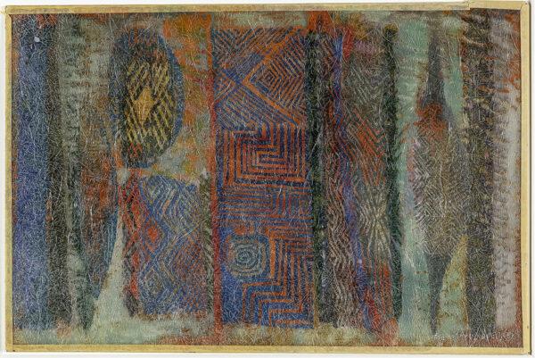 SPENDER Humphrey (1910-2005) - Design, based on aboriginal motifs, for panel for P&O Liner 'Canbera'.