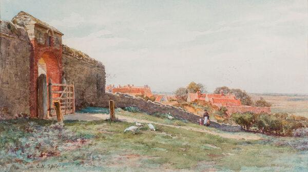 SPIERS Charlotte (Exh: 1880-1914) - Norfolk.