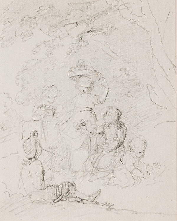 SPILSBURY Maria (1776-1820) - A Fancy Subject.