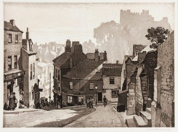 SQUIRRELL Leonard R.W.S. R.E. (1893-1979) - 'Durham'.