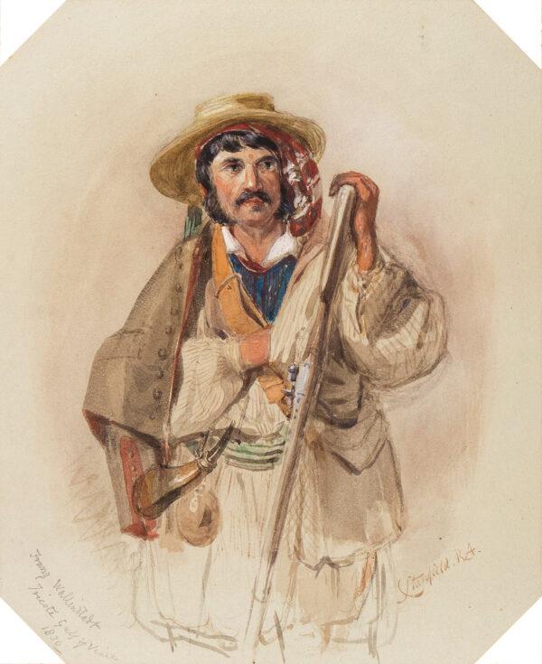 STANFIELD Frederick (aka William) Clarkson R.A. (1793-1867) - 'Franz Wallenstadt / Trieste, Gulf of Venice'.