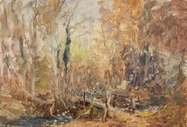 STANNARD Henry John Sylvester (1870-1951) - Autumn woodland.