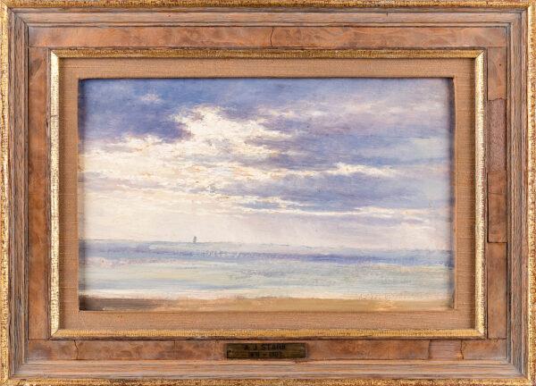 STARK Arthur James (1831-1902) - Sky Study.