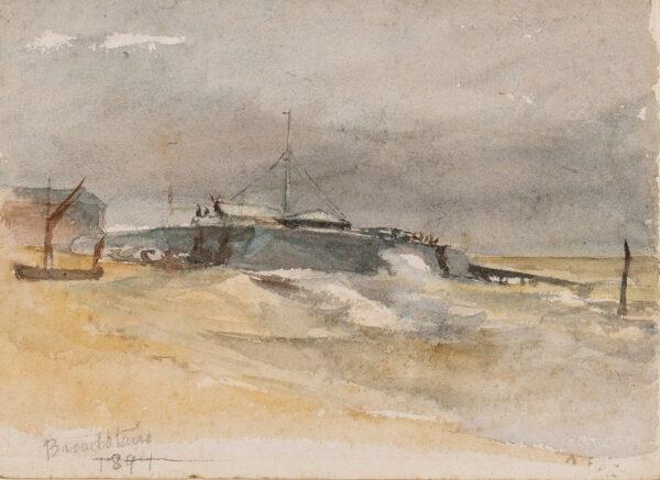 STARK Arthur James (1831-1902) - 'Broadstairs'.