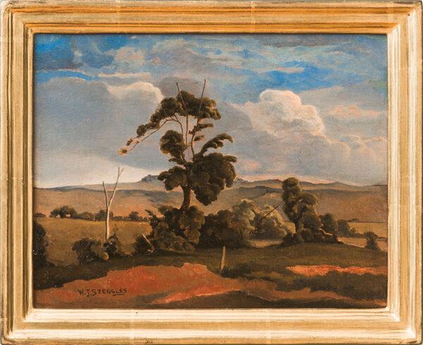 STEGGLES Walter J (1908-1997) - 'Yorkshire landscape'.