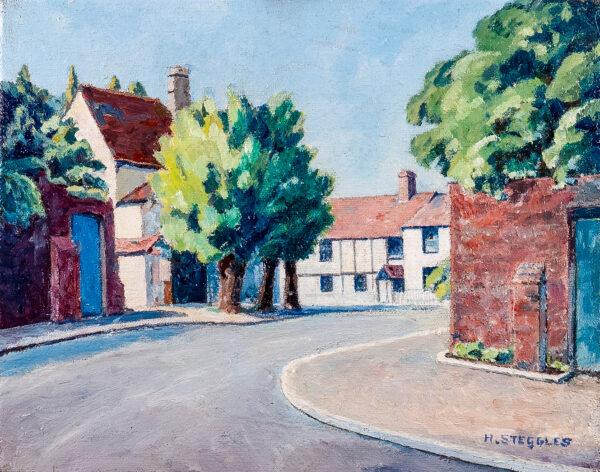 STEGGLES Harold (1911-1971) - Cookham, Berkshire.