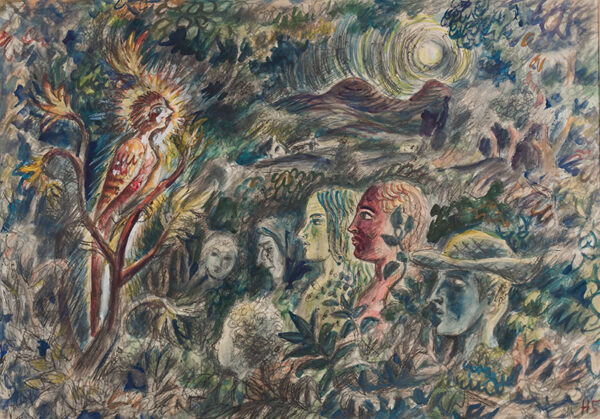 STEINTHAL Helen (1911-1991) - A Voice in the Woods.