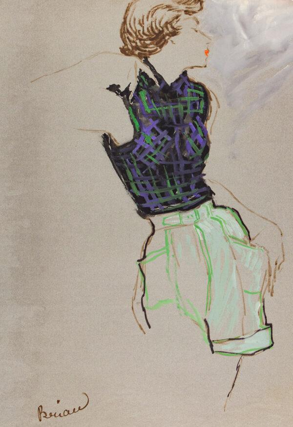 STONEHOUSE M.B.E. Brian (1918-1998) - Shorts and a Sleeveless Top.