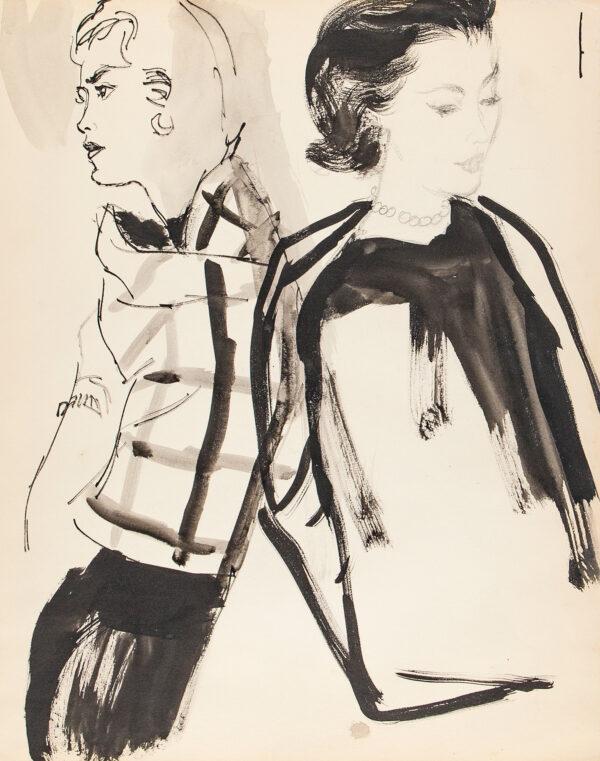 STONEHOUSE M.B.E. Brian (1918-1998) - Modelling Jackets.