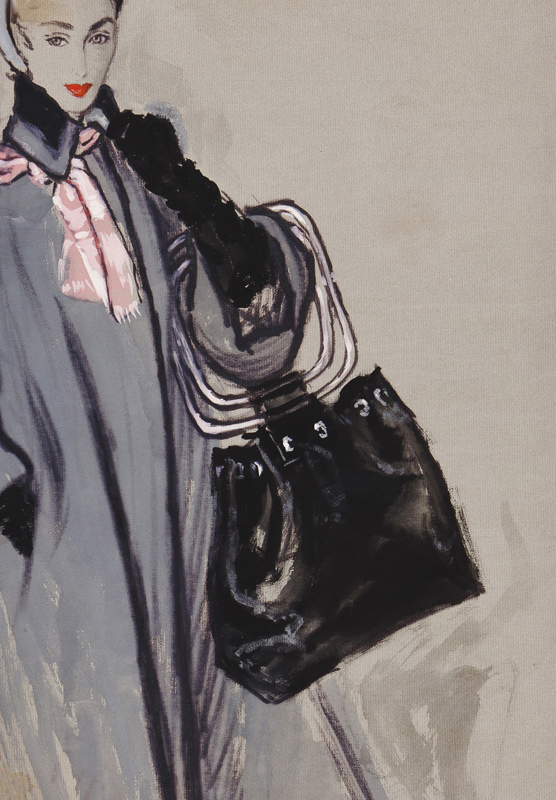 STONEHOUSE M.B.E. Brian (1918-1998) - The Handbag.