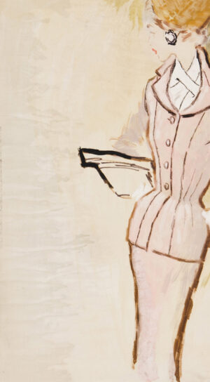 STONEHOUSE M.B.E. Brian (1918-1998) - The Pink Suit.