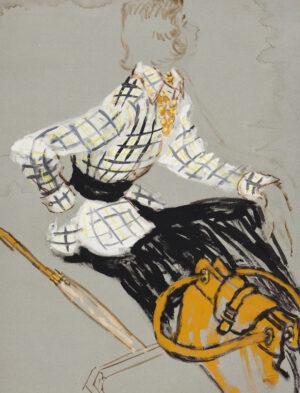 STONEHOUSE M.B.E. Brian (1918-1998) - The Checked Suit, No.