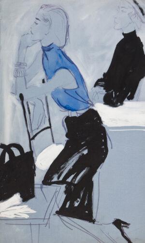 STONEHOUSE M.B.E. Brian (1918-1998) - The Pencil Skirt.