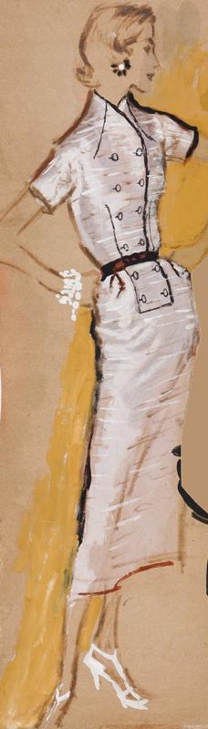 STONEHOUSE M.B.E. Brian (1918-1998) - The Pink Dress.