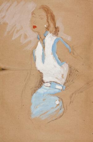 STONEHOUSE M.B.E. Brian (1918-1998) - Winter Overcoats.