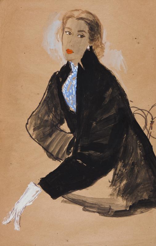 STONEHOUSE M.B.E. Brian (1918-1998) - The Black Jacket.