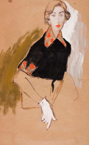 STONEHOUSE M.B.E. Brian (1918-1998) - The Tartan Collar.