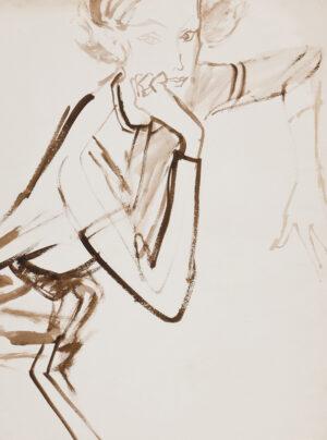 STONEHOUSE M.B.E. Brian (1918-1998) - Hand on Chin.