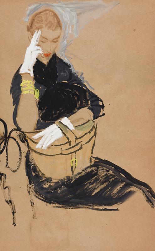 STONEHOUSE M.B.E. Brian (1918-1998) - The White Gloves.