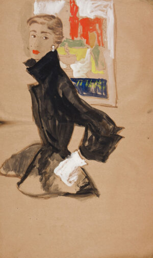 STONEHOUSE M.B.E. Brian (1918-1998) - The Fitted Jacket.