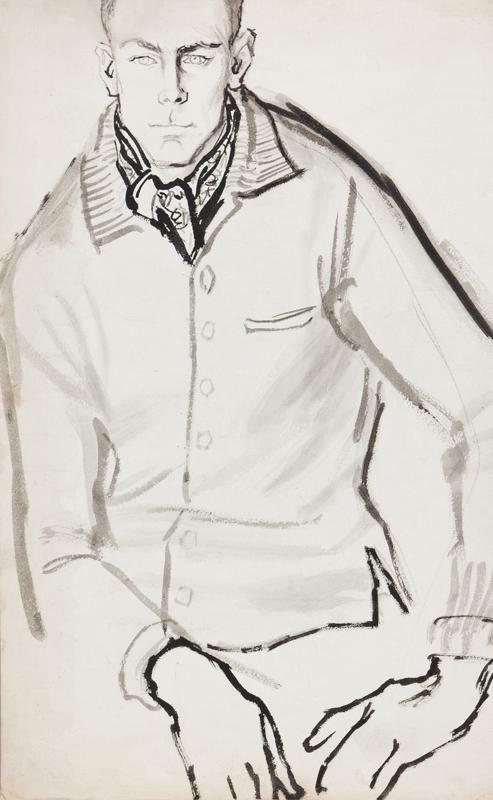STONEHOUSE M.B.E. Brian (1918-1998) - Casual Wear.