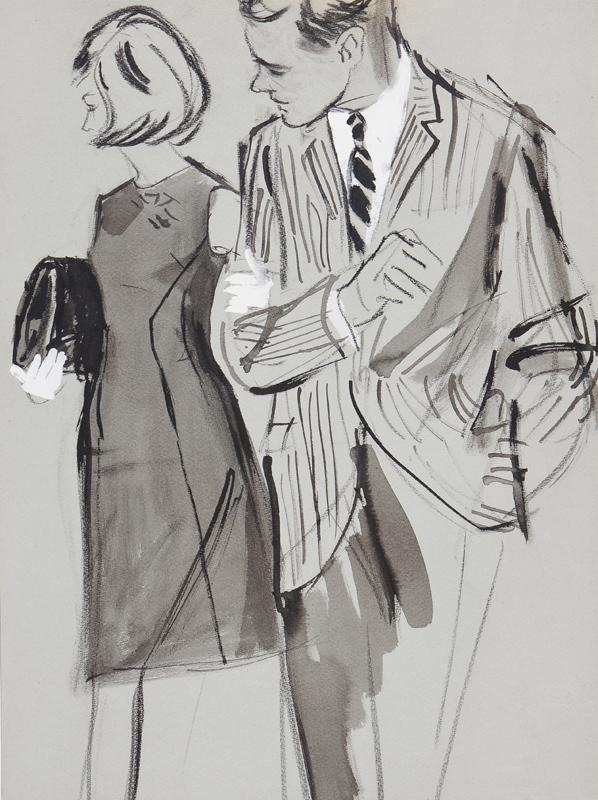 STONEHOUSE M.B.E. Brian (1918-1998) - The Couple.