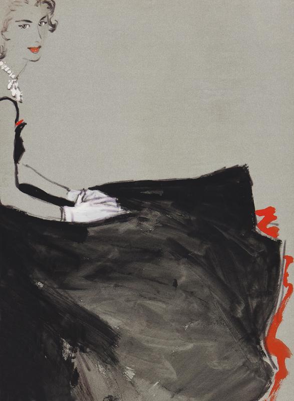 STONEHOUSE M.B.E. Brian (1918-1998) - The Evening Dress.