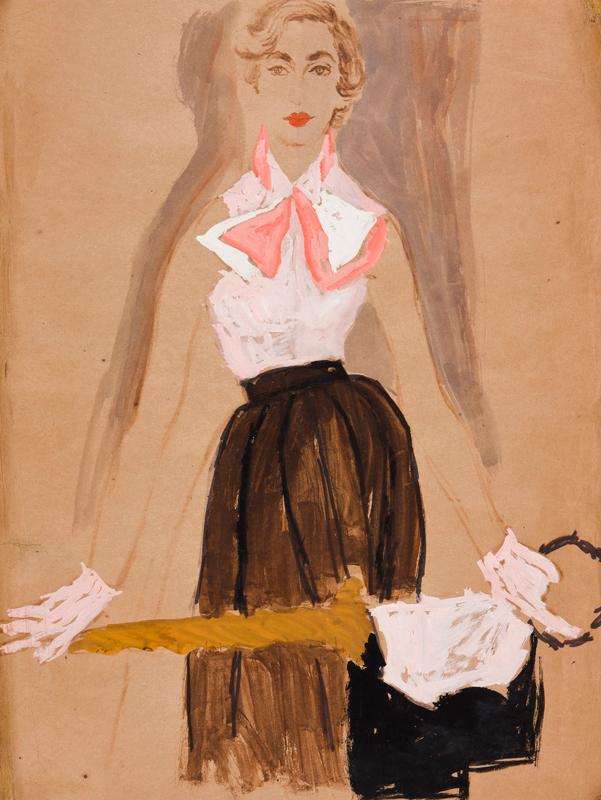 STONEHOUSE M.B.E. Brian (1918-1998) - The Pink Top.