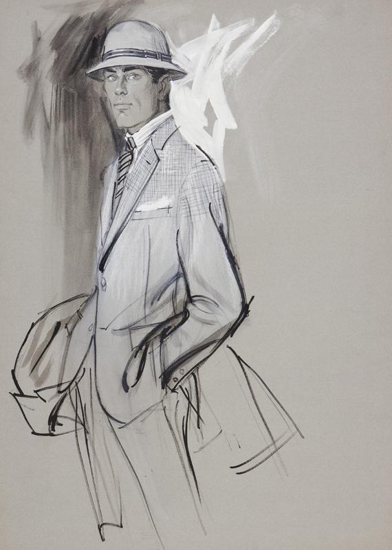 STONEHOUSE M.B.E. Brian (1918-1998) - A Well Dresssed Man.
