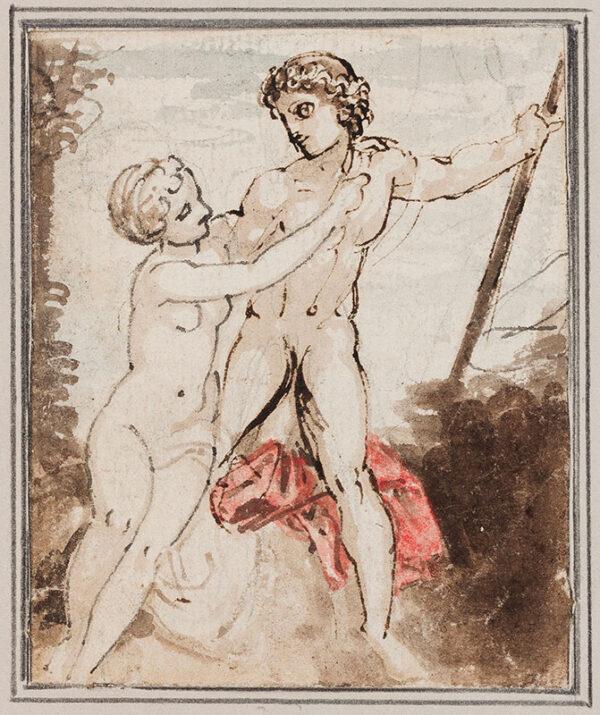 STOTHARD Thomas (1755-1834) - 'Venus and Adonis'.