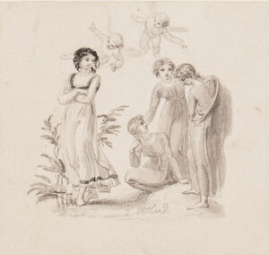 STOTHARD Thomas R.A. (1755-1834) - 'Pansy'.