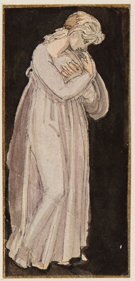 STOTHARD Thomas R.A. (1755-1834) - Standing Girl.