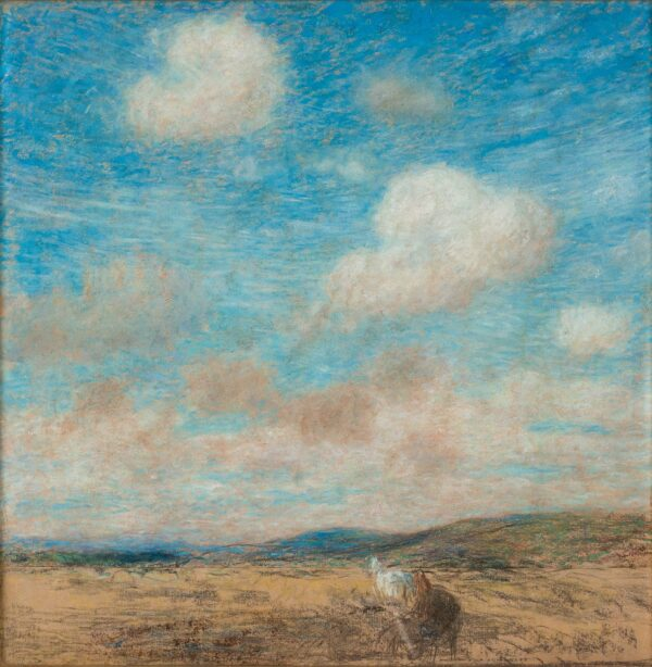 STOTT Edward A.R.A. N.E.A.C. (1858-1918) - 'Summer Sky'.
