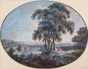 STOWERS Thomas (fl.1778-1813) - London: 'View of (from) Hampstead'.