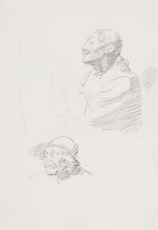 STRANG William R.A. (1859-1921) - Head studies.