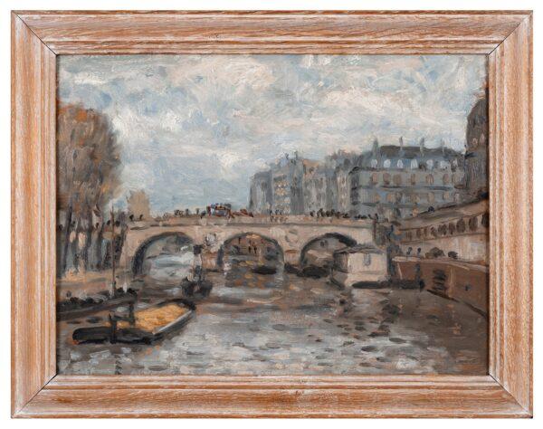 STRANG Ian R.E. (1886-1952) - Paris: Le Pont St Michel.