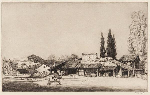 STRANG William R.E. R.A. (1859-1921) - 'Segovia'.