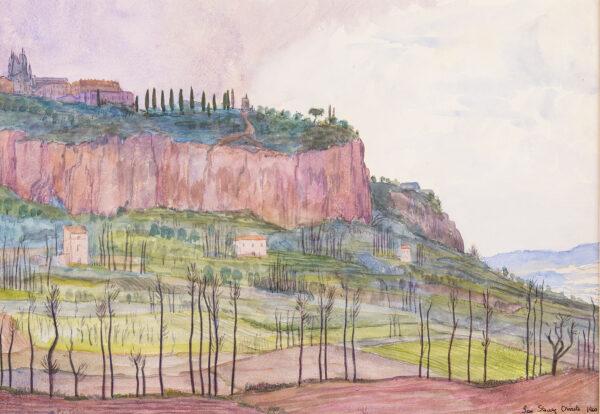 STRANG Ian R.E. (1886-1952) - 'Orvieto'.