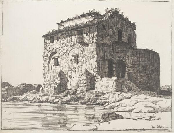 STRANG Ian R.E. (1886-1952) - 'Moorish Mill, Cordova'.