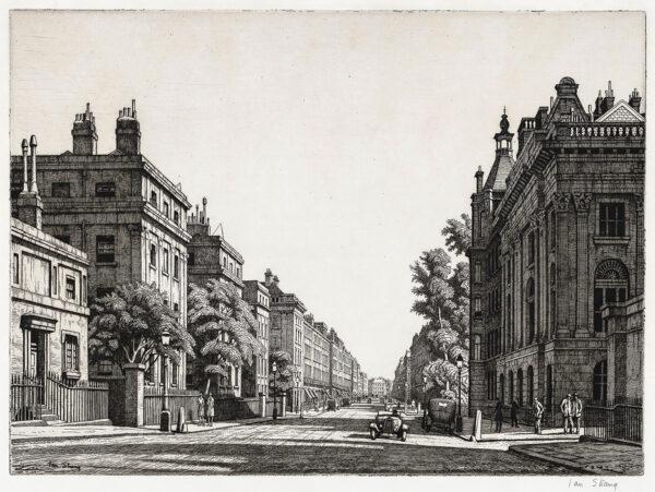 STRANG Ian R.E. (1886-1952) - Harley Street.