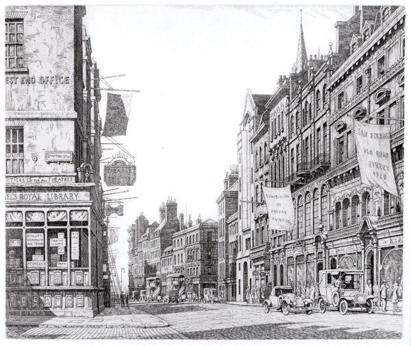 STRANG Ian R.E. (1886-1952) - 'Bond Street and Stafford Street'.